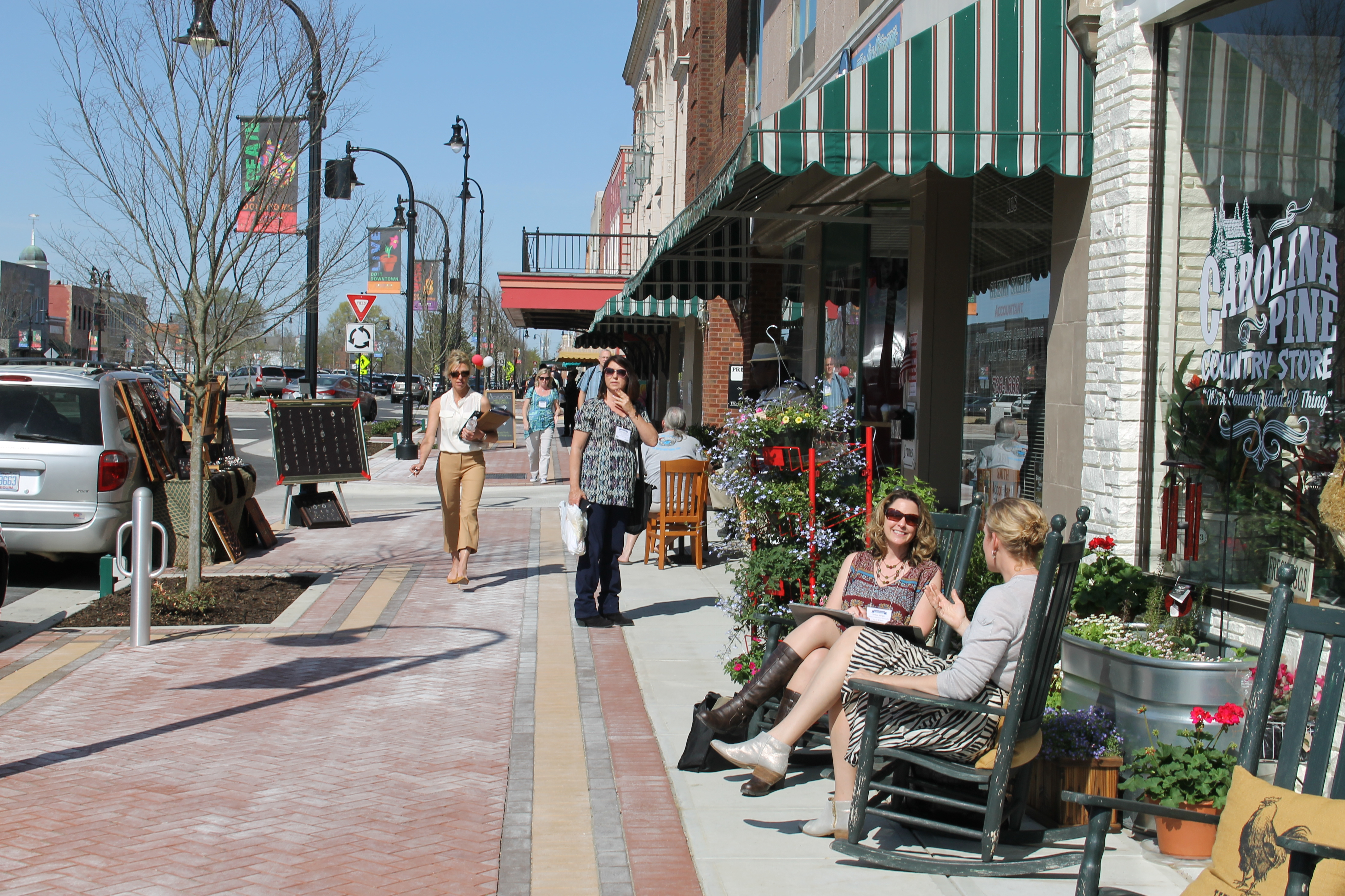 A Downtown Revival Here We Grow Nc