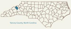 Burnsville Yancey Case Study Map